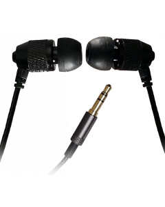 "Short Buds, 15"" Cord Stereo Earbuds (In-Ear) for Clip-on Mp3 Players"