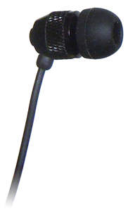 Short Buds - Short Cord Single Stereo-to-mono Earbud