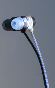 Brite Buds - Reflective Cord Single Earbud