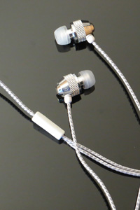 Brite Buds - Reflective Cord Stereo Earbuds