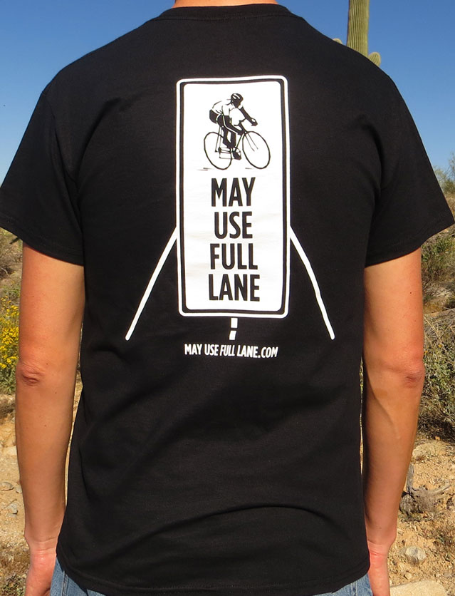 Cyclists May Use Full Lane