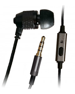 XDU Pathfinder + Mic Single Noise Isolating Earbud with Reinforced Cord