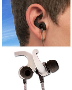 BudLoks for In-Ear and Ear Canal Earphones - 3 Sets - Single Size