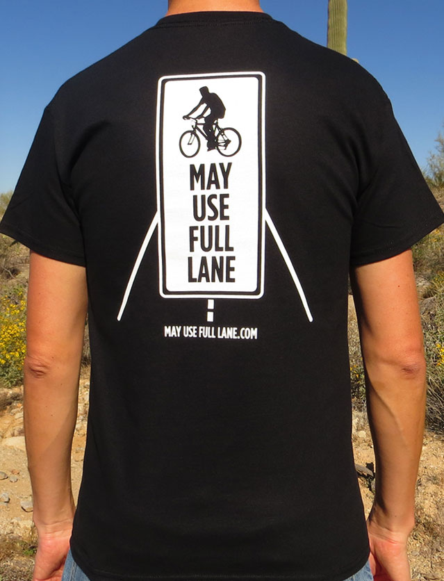 Mountain Bikers May Use Full Lane