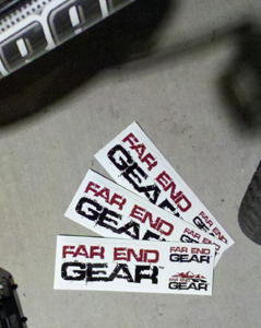 Far End Gear Sticker Pack